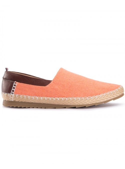 Valencia Orange Espadrilles