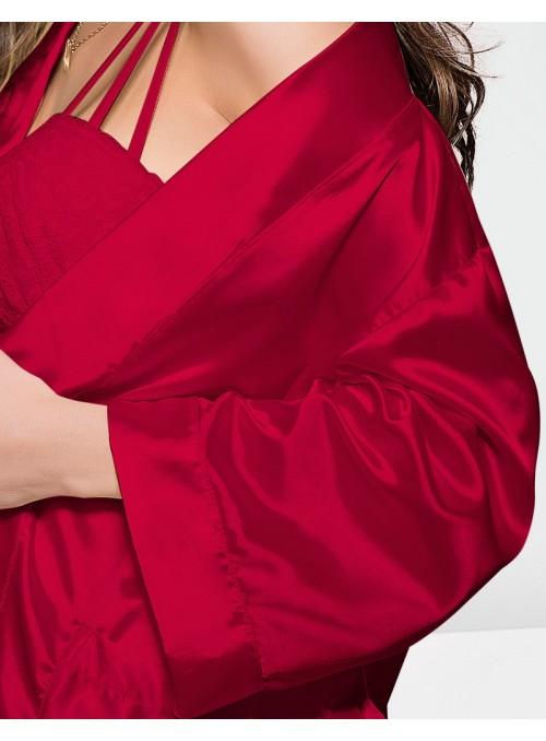 Peignoir Kimono Rouge